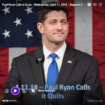 Paul Ryan Calls it Quits – The Ed Martin Movement – Wednesday, April 11, 2018 – Segment 1
