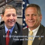 Congressman, Mike Bost, on Trade and the V.A.-Monday, August 27, 2018 -Segment 2